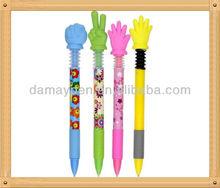 new model finger promotional ball pen