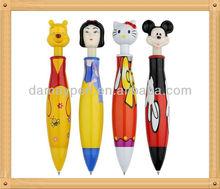 cartoon character pens/cartoon pen for students