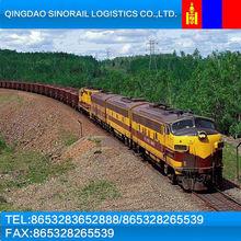 from Ulan Bator to Changzhou railway wagons