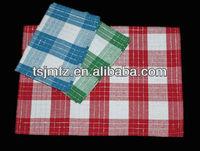 100 cotton denim fabric dish towel