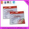 Custom printing bags for orange fruit
