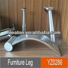 Chrome Decorative Metal Furniture Legs