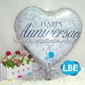 18 polegadas coração balão da folha para presentes de aniversário