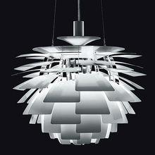 Danish Designer Classical Masterpiece Dia 60cm Aluminium China PH Artichoke Chandeliers