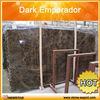 Dark Emperador marble slab dark brown marble good price