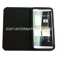 Genuine Leather Flip Case For Blackberry Z10