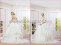 elegante vestidos de novia con detalles en rojo