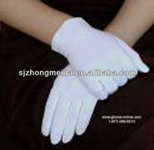 military ceremonial white gloves marching band cotton white gloves jewellery inspection gloves
