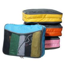 New design Nylon Travel bag set/packing cube sets