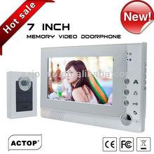 7 inchTFT villa asterisk airphone outdoor intercom VDP313+CAM210