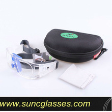 Sports goggles prescription eyewear with strap and all fitting