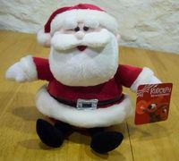 super soft christmas doll santa claus