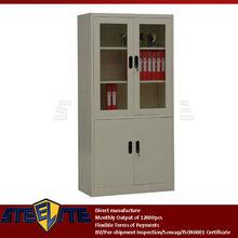 Good Price Glass Door Steel FIling Cabinet Metal Office Furniture