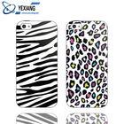 Custom Phone Covers For Samsung Galaxy Ace Plus S7500 Zebra Stripe Phone Case