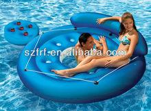 POOL MAT RIVER FLOATING ISLAND RAFT /inflatable floating islands