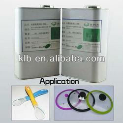 adhesive for cured silicone platinum self adhesive transparent pet film