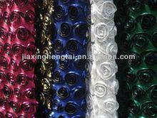 wedding dress,ace fabric,Polyester Mesh+Taffeta Brongzing Embrodery FabricHT-PTBEF-01