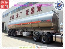 15000-60000 liters aluminum jet fuel tanker trailer,BPW axles,airbag suspension,ASME standard +86 13597828741