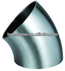 45Deg alloy steel elbow forged bend bevel end pipe fittings