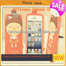 3D cute animal silicone case cover for nokia 5230