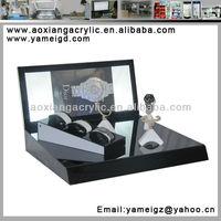 counter top acrylic plastic jewelry watch box