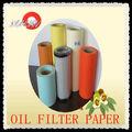 Reconocida Marca papel filtración pasta de madera comustible (Peso básico 110-170g/m2)