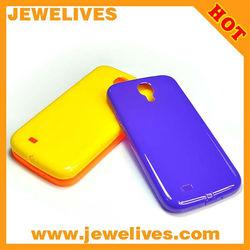 factory Cute Polka Dots Soft TPU Gel Case for samsung S4 I9500/gel case for samsung s4