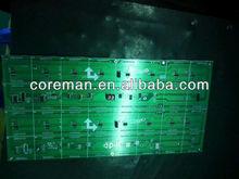RS232,RS485,RJ45,net port,ethernet interface messge display p7.62 single color led module indoor