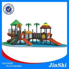 Jungle Adventure Series Children outdoor playground,Plastic slide,Factory Price Equipment With GS TUV Certificate,CE