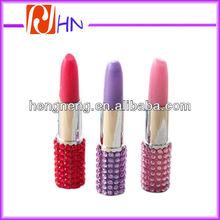 bling lipstick pen novelty pen cheap ballpoint pen