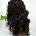 remyindiens vague profonde cheveux vierges pleines perruques de lacet de gros