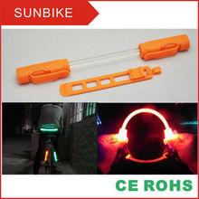 led light bike mount to bike frame