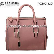 Factory Customize Cute Simple Bag Shoulder Purse Fashion Ladies Leather Handbag