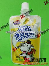 Liquid ,jelly, juice standing spout pouch