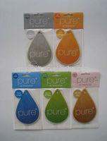 Custom Car Perfume card with Backing Card, Hanging Aroma Card