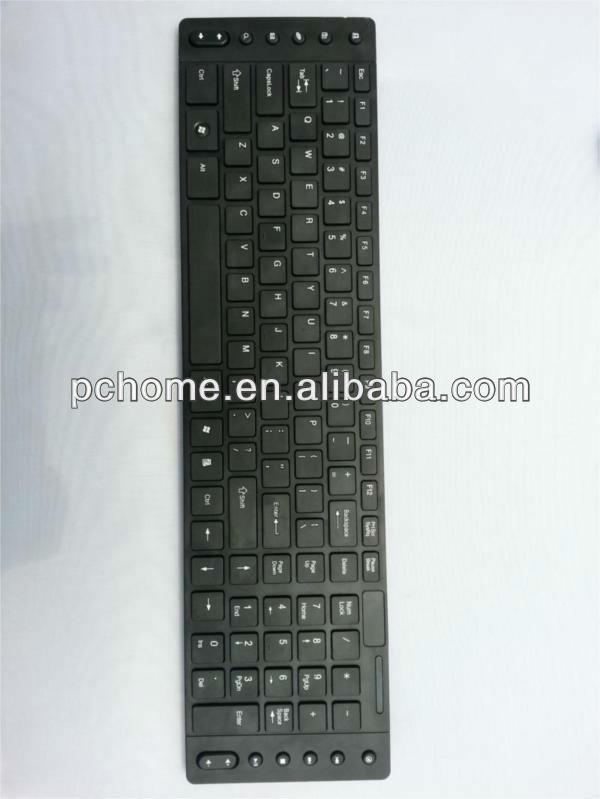 Single standard wireless keyboard laptops