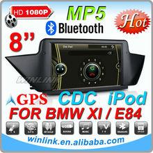 8 Inch Digital Screen Car DVD GPS For BMW X1 E84