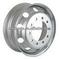 Utilitário caminhão aro da roda de aço, Tamanho da roda de 17.5 polegada - 24.5 polegada