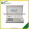 2013 calidad superior más populares u ego cigarrillo electrónico starter kit cigarrillo electrónico distribuidor