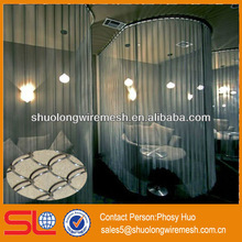 2013 new style!Decorative metal mesh curtain,metal privacy screen,building materials