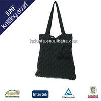 Fashion 2013 pretty acrylic jacquard ladies Knitted handbags bags