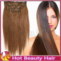 cheap 100% human hair clip hair extensions dubai for sale