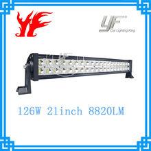 Amazing! 5 years warranty! IP68 126W outdoor led bar light