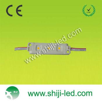 super high brighte CE ROHS good quality IP 65 warm white led module DC 12V