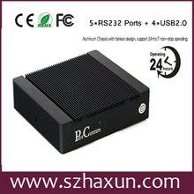 New Model intel atom mini pc with N2800 Dual-core processor,with RS232, WIFI,RJ45,VGA,USB2.0