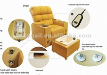Professional Nail Salon Furniture Manicure and Pedicure Spa Chair