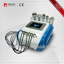 desktop 6in1 Cavitation+Vacuum+40k +Bipolar &Tripolar RF fitness machine