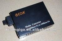 10/100M 30KM Fiber media receiver transmitter MC100FX-SC30-A tv transmitter and receiver