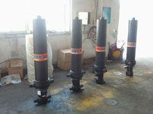 Hyva Style Telescopic Hydraulic Cylinders for Dump Truck