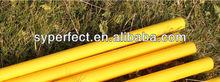 4 SALES Yellow Training Pole 25mm Diameter Plastic PVC Pipe 1.2M